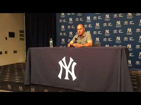 Yankees' Brian Cashman explains J.A. Happ trade