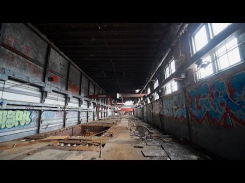 ABANDONED : The Incredible, Historic AMERICAN ICE COMPANY Building in Baltimore, MD