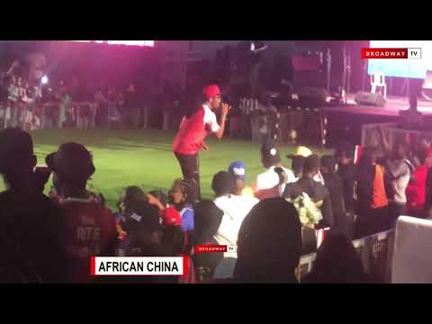 Slimcase, African China, and Mr Real Perform at the 2018 MerryBet Celebrity Fan Challenge