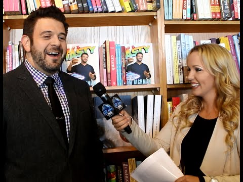 Adam Richman Freestyles in 2015 Interview! Man vs Food & Man ...