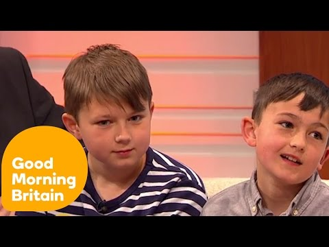 'Charlie Bit My Finger' Brothers 10 Years On - YouTube's 10th Anniversary | Good Morning Britain