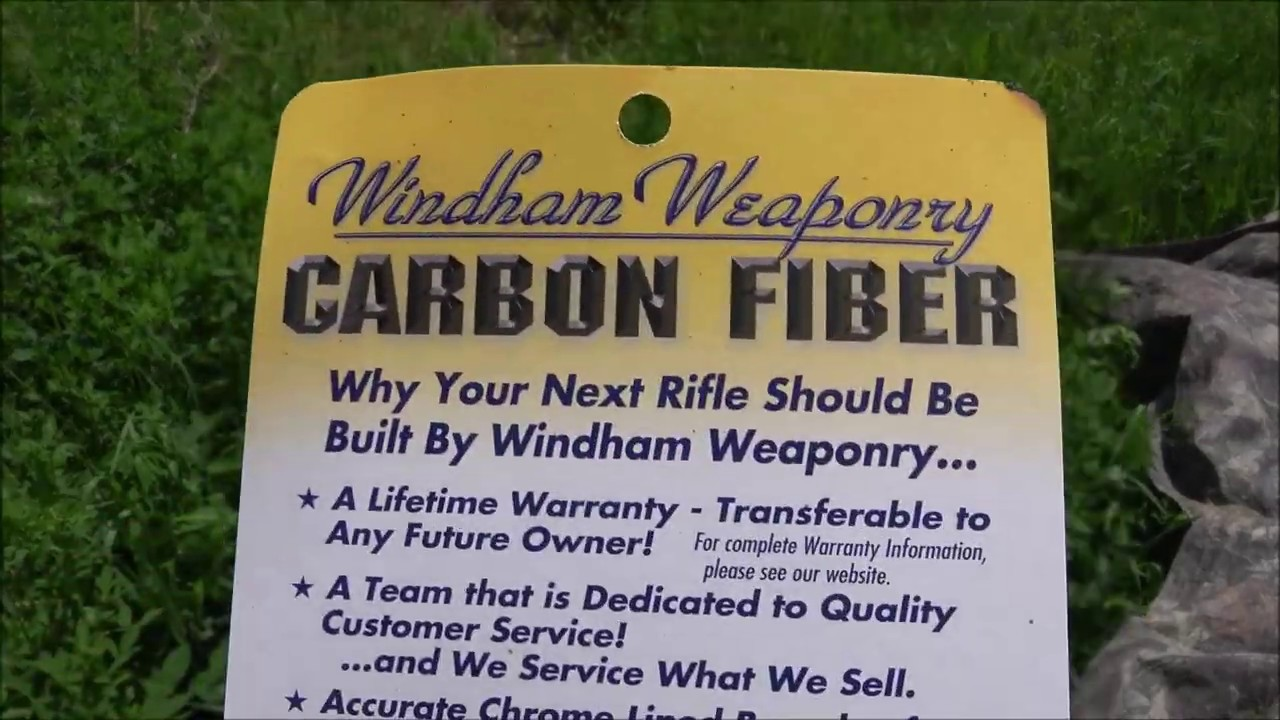 Windham Weaponry Carbon Fiber AR15 500 Round Stress Test (Exclusively on lbry.tv)