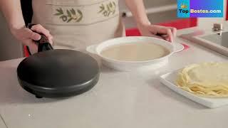 Crepe Maker Pizza Pancake Machine