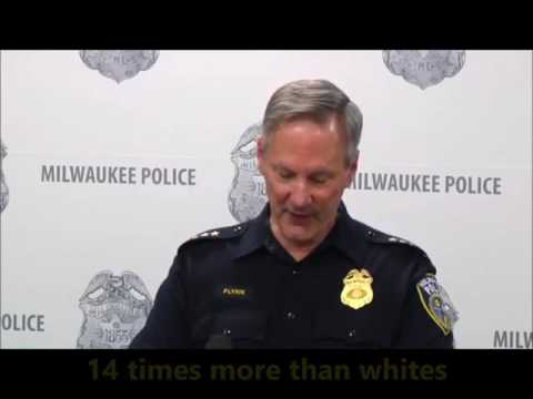 Milwaukee Police Chief Quotes Crime Stats