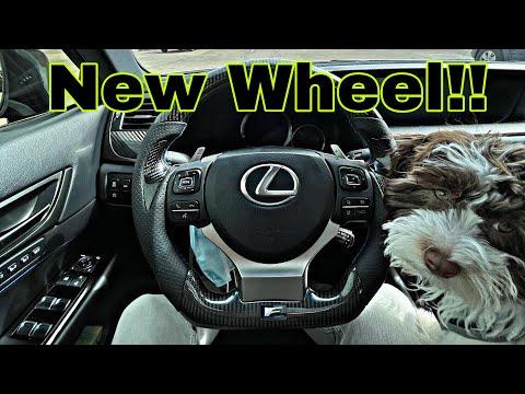 Lexus GSF Carbon Fiber DIY Install