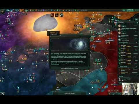 Stellaris trying and failing to take over the galaxy (Part 17) |