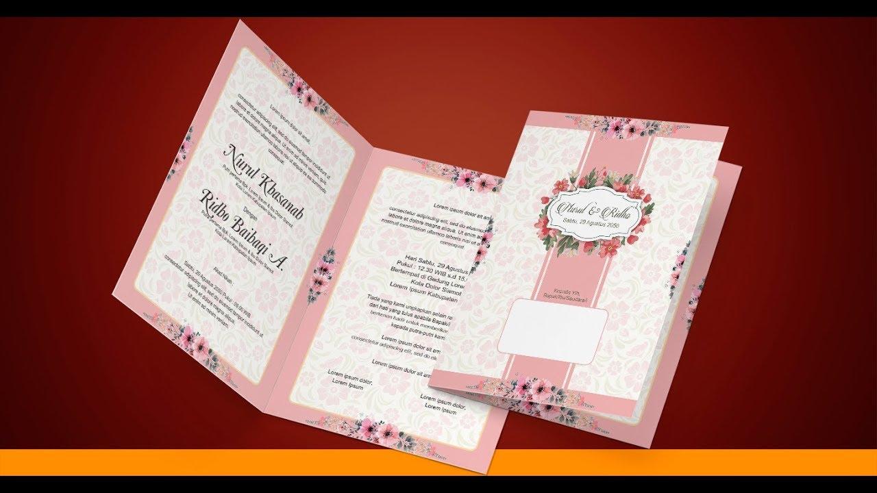 1070+ Gambar Desain Undangan Pernikahan Unik Coreldraw HD Terbaik Unduh Gratis