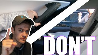 DON'T do these 10 things with your Tesla Model 3 | 2019.40.50.5