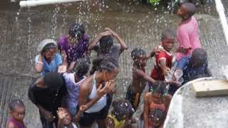 "Wet Fete in Grand Fond A.K.A. ""White City"" Dominica"