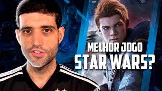 Esse vai ser o melhor jogo de Star Wars? Star Wars Jedi Fallen Order primeiro gameplay