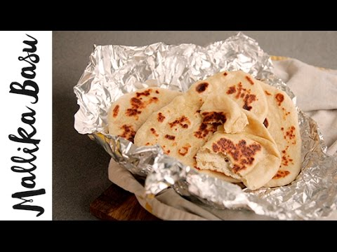 Fluffy Naan In A Frying Pan