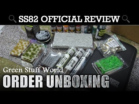 ORDER UNBOXING! Cool Wargaming Accessories from Green Stuff World!
