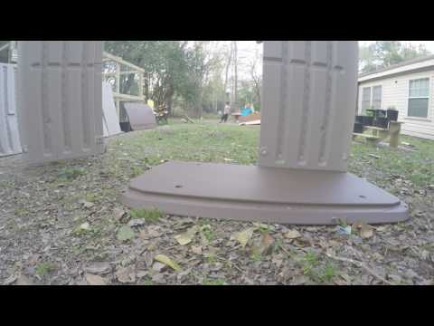 Suncast BMS3200 Horizontal Storage Shed Unboxing, Assembly & Review
