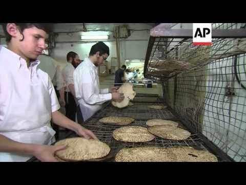 Israelis prepare dishes to celebrate the Jewish passover