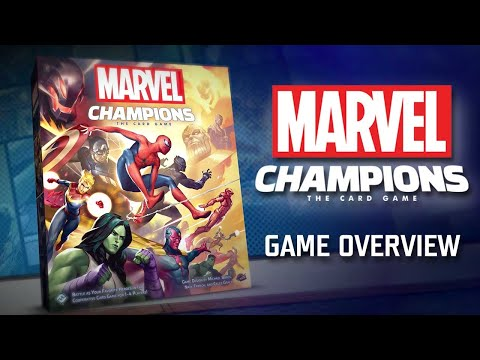 Marvel Champions: The Card Game Overview