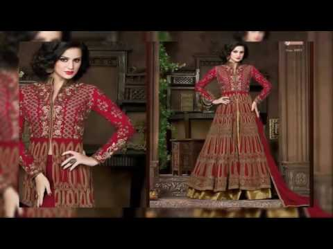 EID Collection  Designer Anarkali Style Gowns Sharara Trendy Salwar Suits latest fashion