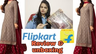 Party wear dress material from flipkart flipkart dress material weddingseries review amp unboxing