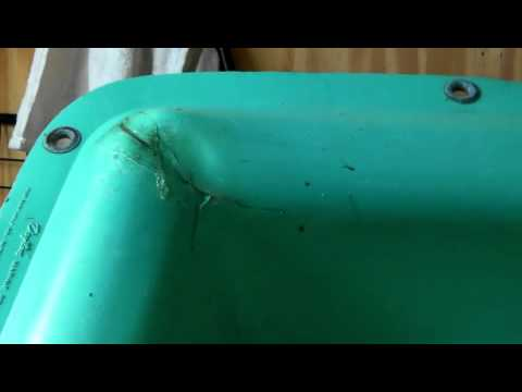 How To Repair A Plastic Boat Hull For Free