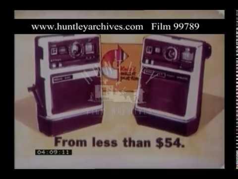 Kodak Instant Camera, 1970s - Film 99789