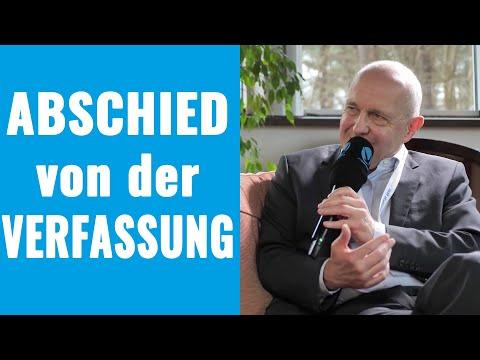 Abschied von der Verfassung: Die bemerkenswerte Wandlung von Art. 146 GG - David Dürr im Interview