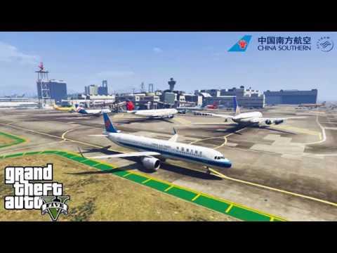 GTA5 - 【China Southern Airline】Airbus A321neo Full Flight LSIA-Procopio