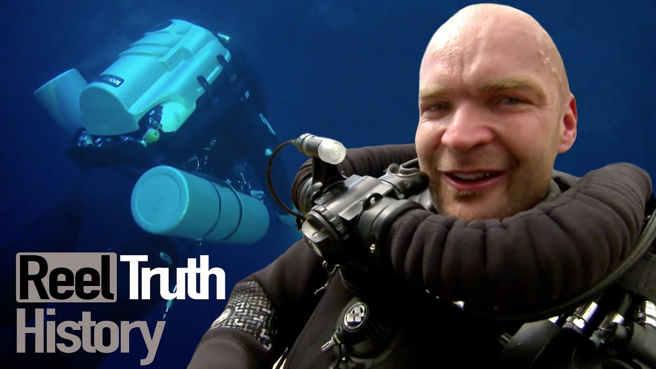 Monty Halls' Dive Mysteries: The Curse of The Blue Hole | History Documentary | Reel Truth Hist