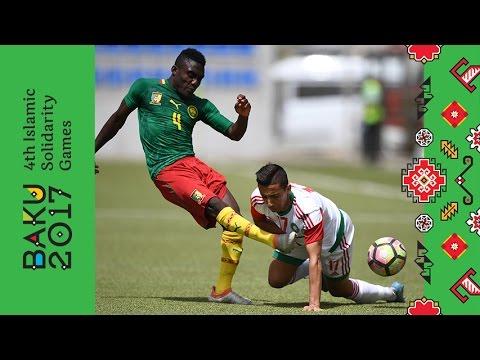 Kamerun və Mərakeş arasında futbol matçı   Bakı 2017