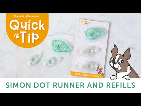 How to Use Our Simon Says Stamp Dot Runner and Refills