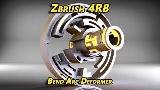Zbrush 4R8 Bend Arc Deformer