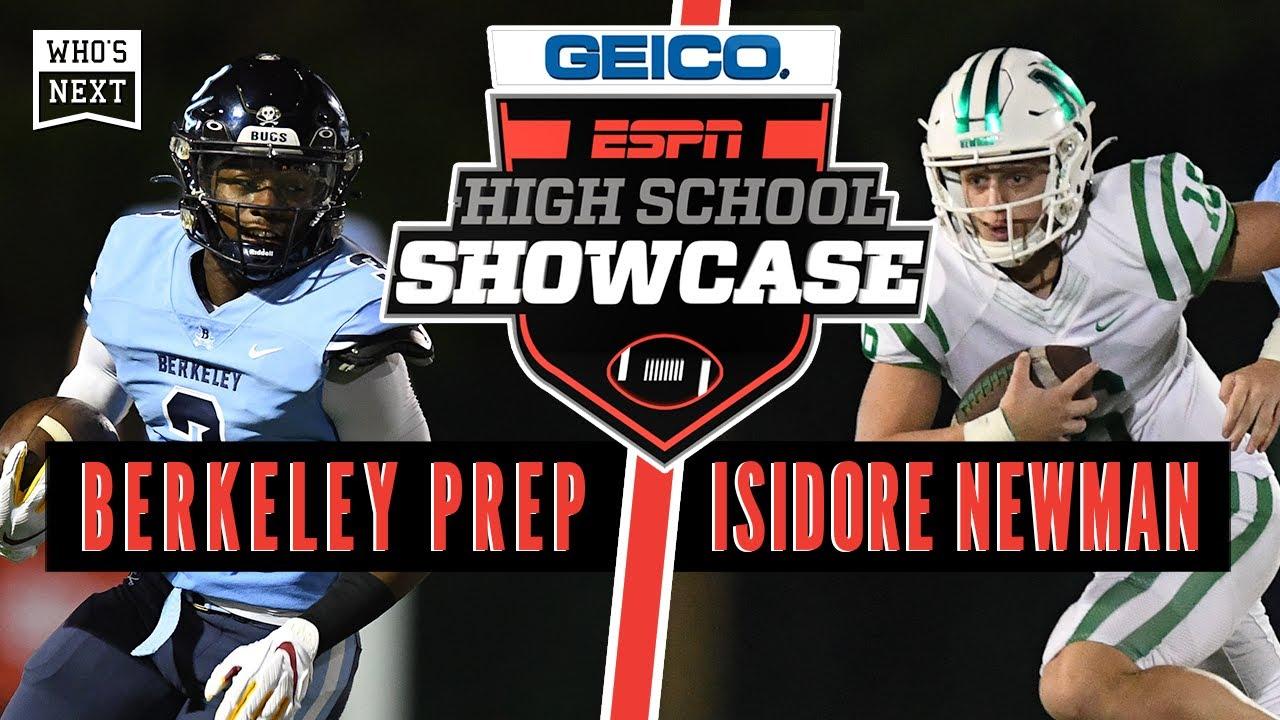 Berkeley Prep (FL) vs Isidore Newman School (LA) - ESPN Broadcast Highlights