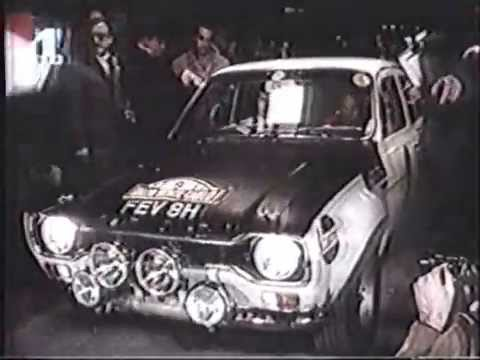 Rally Monte Carlo 1970 71 Youtube