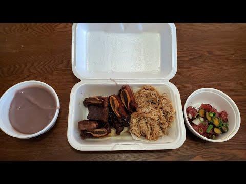 Helena's Hawaiian Food   Pipikaula Short Ribs   Kalua Pig   Poi   Opihi