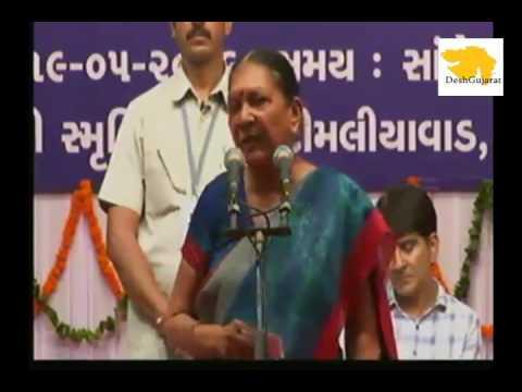 Gujarat CM for her govt's branding through govt housing, Solar rooftop