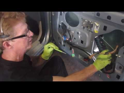 2004 Mercury Grand Marquis   How To Replace A Window Regulator
