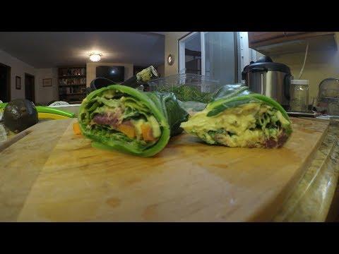 Sweet potato avocado hummus wraps (How to make veggies taste great part 9 of 13