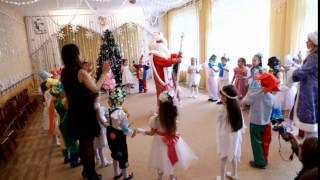 """песня-танец """"Новогодняя-хороводная"""" песня """"Новый год"""" на новогоднем утреннике в детском саду"""