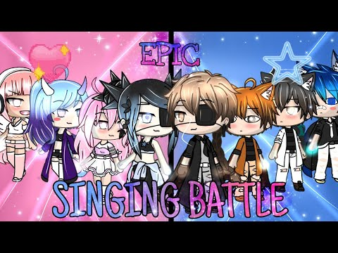 Girls VS Boys Gacha Life Singing Battle •SPECIAL 30K SUBS✓