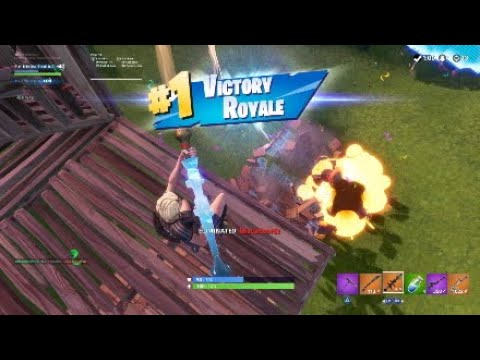 Fortnite Carrying my random duo to back to back wins (his first duo win)