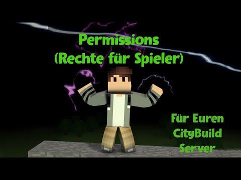 Minecraft Server Permission (Rechte für Spieler) und Rank System!
