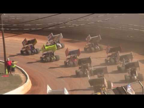 Port Royal Speedway 410 Sprint Car Highlights 9-05-16