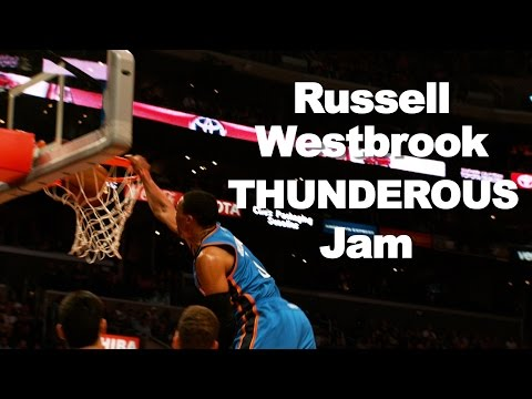 Westbrook's iconic dunk vs the Clippers