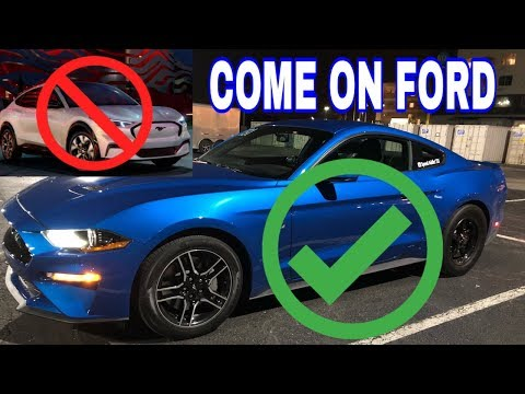 """Come on Ford!- My thoughts on the new 2021 """"Mustang"""" Mach E"""