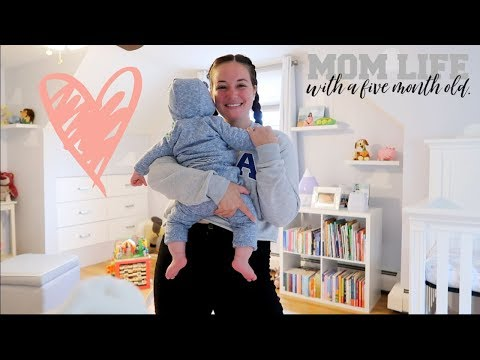 NEW MOM DAILY ROUTINE VLOG | 5 Months