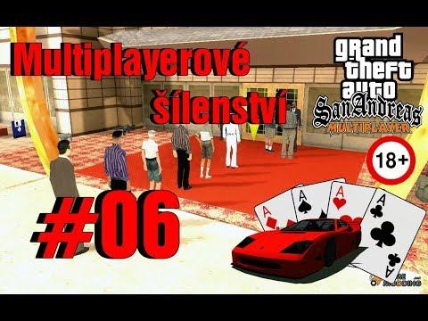NAVŠTÍVILI JSME KASÍNO w/ Kikush (GTA San Andreas Multiplayer #06)