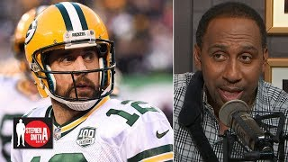 Stephen A. insulted by the disrespect directed at Aaron Rodgers | Stephen A. Smith Show