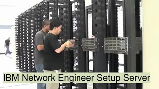 IBM Network Engineer Setup Server Room !! Documentary Video