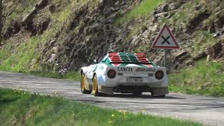 HISTORIC RALLY CARS ARDECHE 2018 SHOW AND MISTAKES [HD]