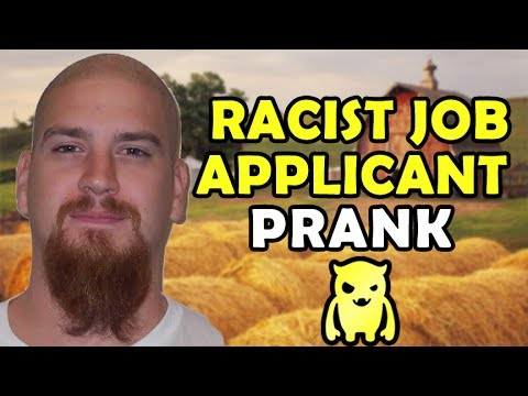 Racist Job Applicant Prank - Ownage Pranks from YouTube · Duration:  7 minutes 15 seconds