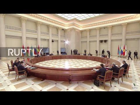Russia: EEU Customs Code signed by EEU member-states in St. Petersburg
