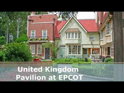 EPCOT - United Kingdom Pavilion Area Music